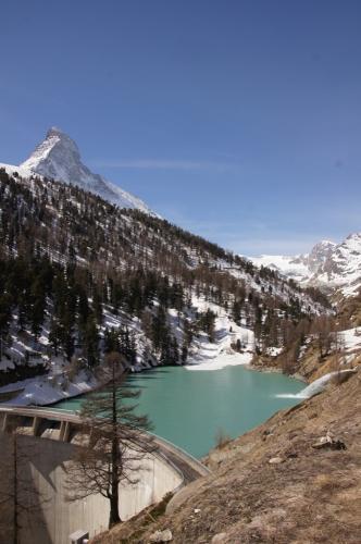 Matterhorn mit Zmutt-Stausee