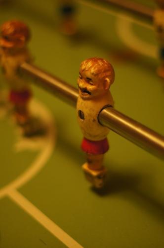 Tischfussballfigur
