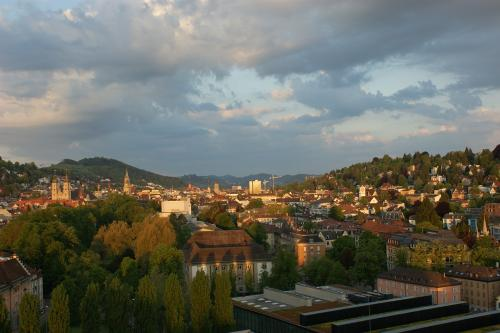 Morgenstimmung in St. Gallen