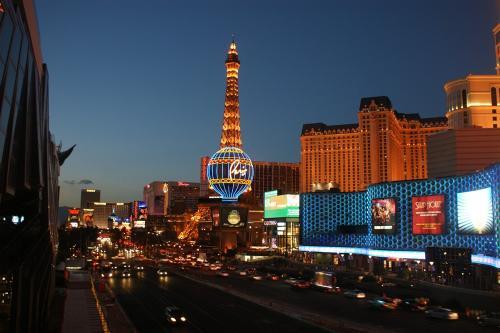 Abendstimmung in Las Vegas